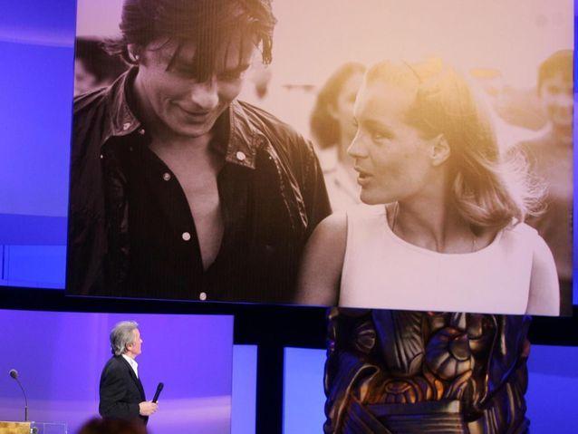 L'hommage d'Alain Delon à Romy Schneider