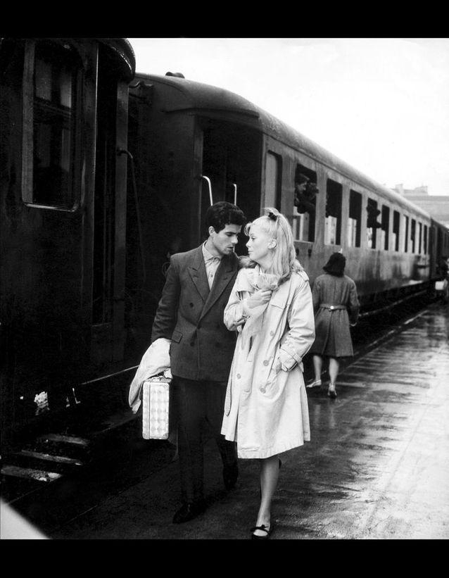 Catherine Deneuve et son partenaire Nino Castelnuovo