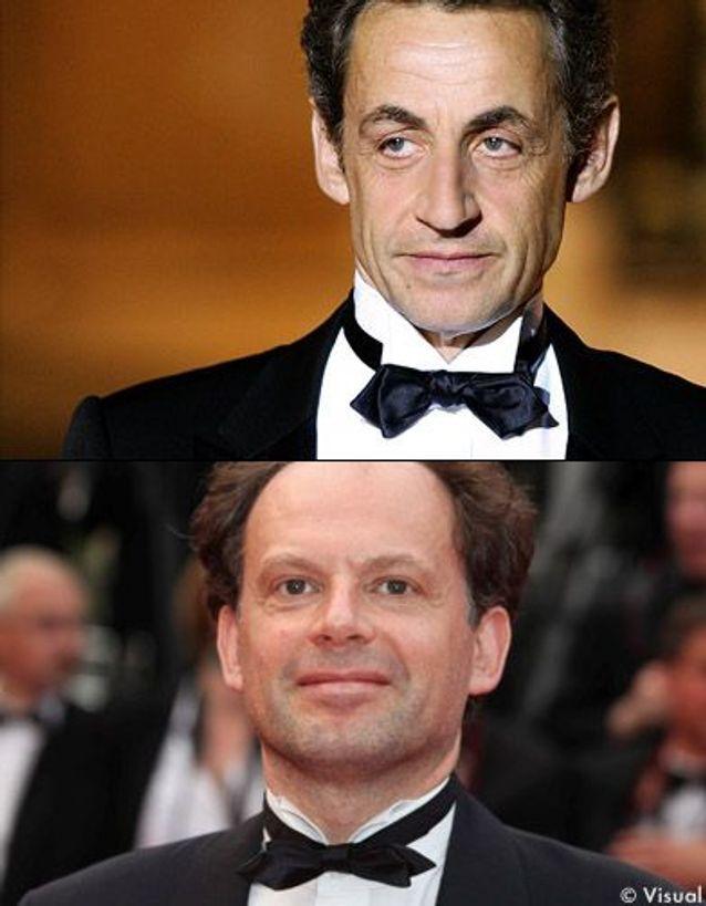 Denis Podalydès en Nicolas Sarkozy.