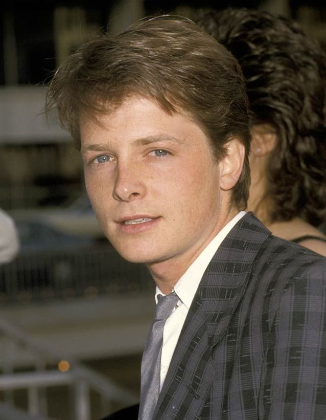 Michael J. Fox est Marty McFly
