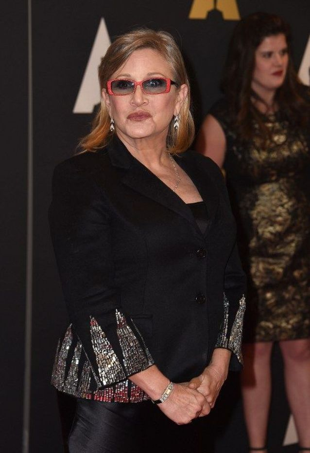 Carrie Fisher aujourd'hui