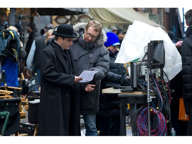 Le tournage de « The Immigrant »