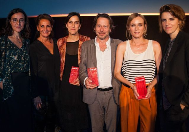 Florence Ben Sadoun, Constance Benqué, Sarah Gavron, Mathieu Amalric, Diane Kruger et Françoise-Marie Santucci