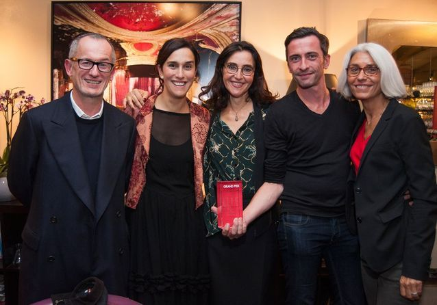 Jérôme Jouneaux, Sarah Gavron, Florence Ben Sadoun, Matthieu Rey et Françoise Delbecq