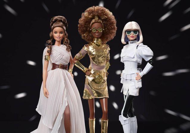 EXCLU : Mattel dévoile sa nouvelle collection Barbie x Star Wars