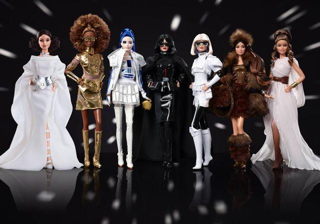 L'ensemble des Barbies inspirées de la saga