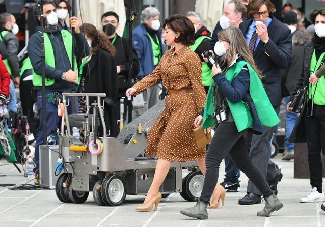 Lady Gaga entre deux scènes