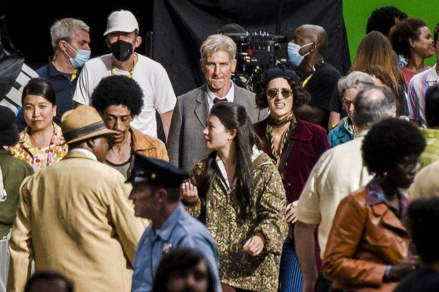 Harrison Ford et Phoebe Waller-Bridge