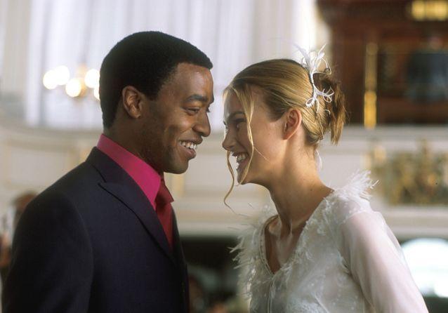La scène du mariage entre Juliet et Peter