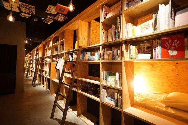 L'hôtel Book & Bed, le paradis des littéraires