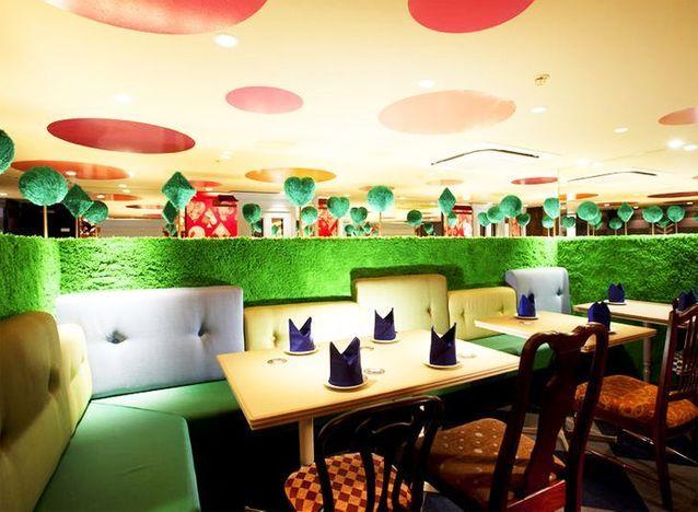 Le Alice in Wonderland Café, le « mad diner »