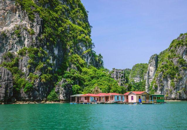 Baie d'Along, au Vietnam