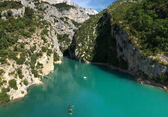 Gorges du Verdon, en France