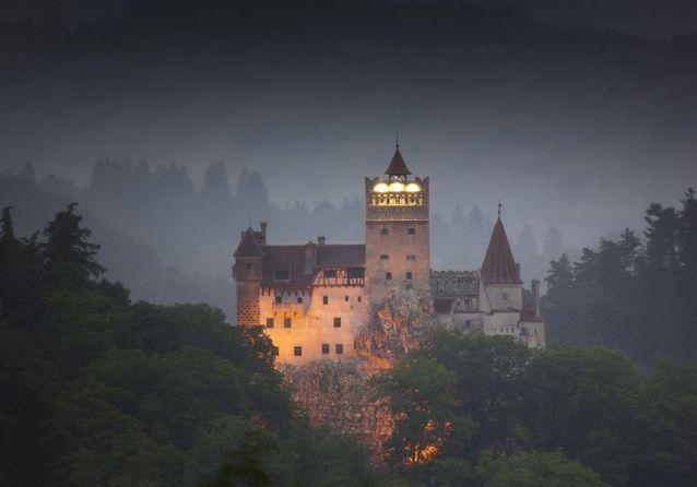 Le Château de Bran, en Roumanie