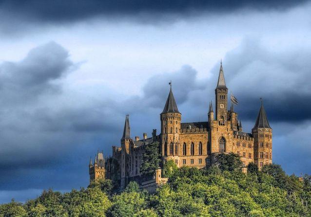 Le Château de Hohenzollern, en Allemagne