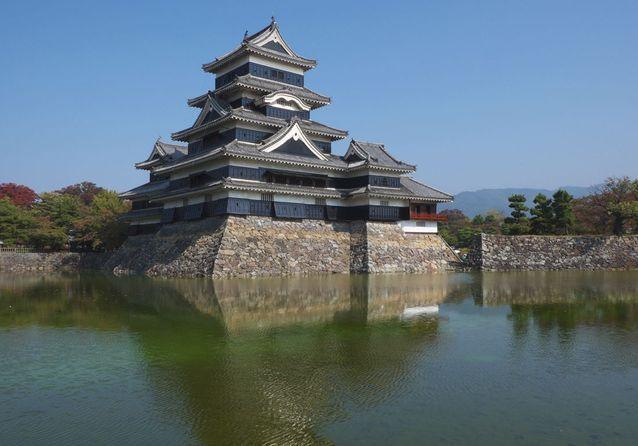 Le Château de Matsumoto, au Japon