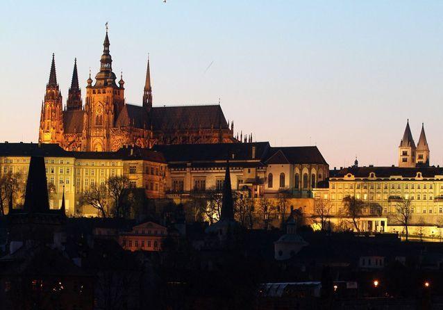 Le Château de Prague, en République Tchèque