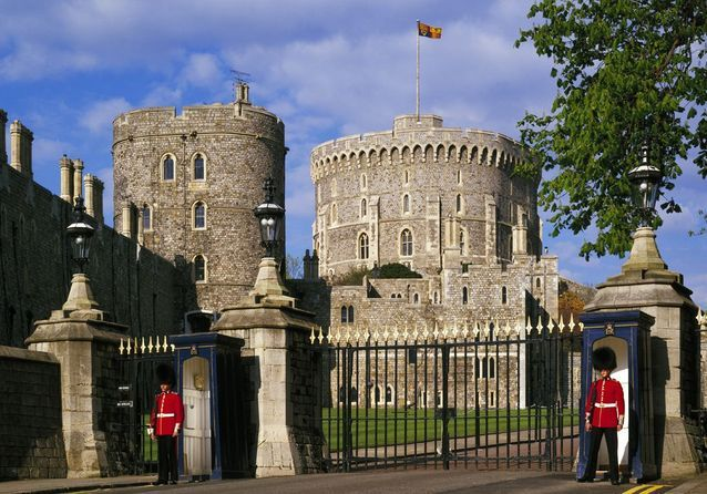 Le Château de Windsor, en Angleterre