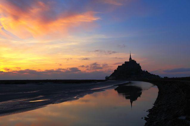Au Mont-Saint-Michel