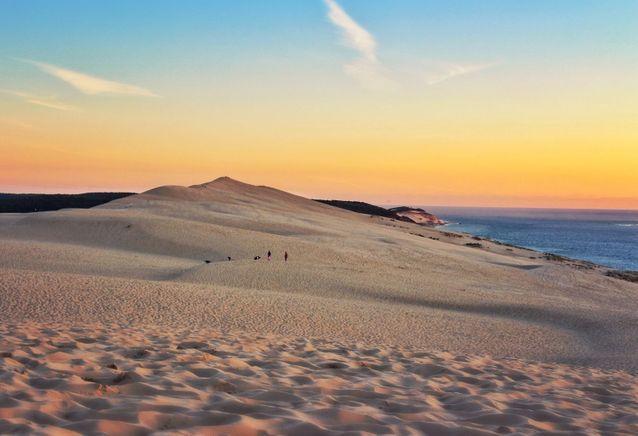 Depuis la Dune du Pilat