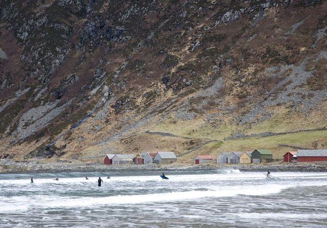 Hoddevik, en Norvège