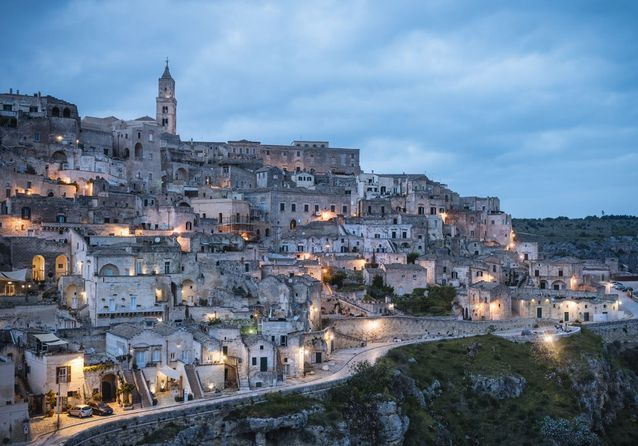 Matera en Italie