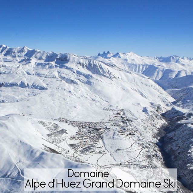 Domaine Alpe d'Huez Grand Domaine Ski