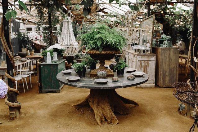 Petersham nurseries, la boutique des green girls