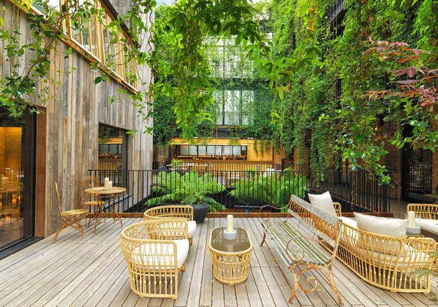 The Mandrake hôtel, une déco végétale