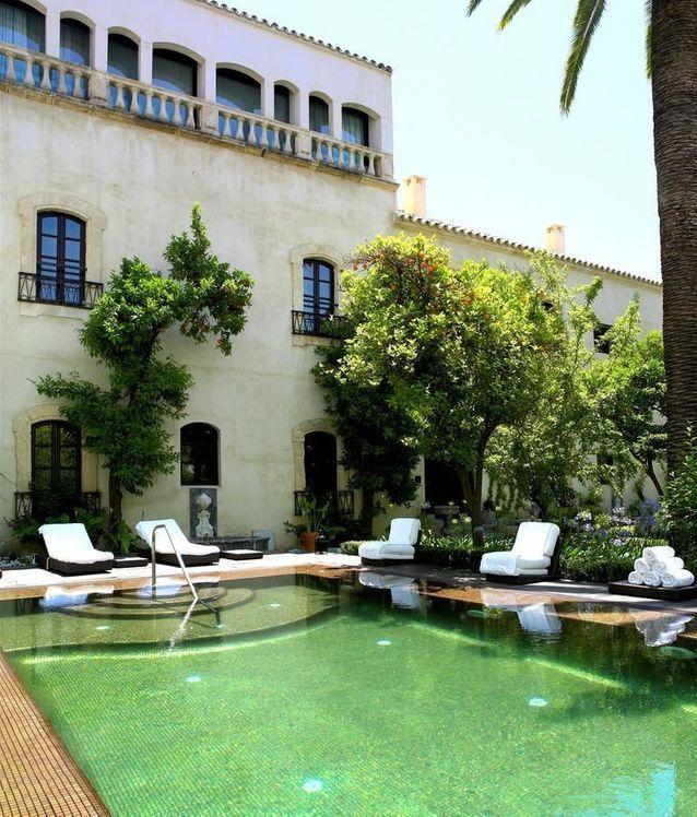 À Cordoue : l'hôtel Hospes Palacio del Bailio*****