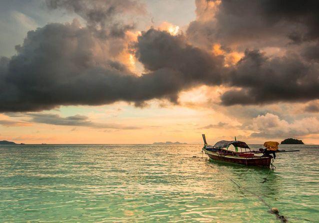 Décor paradisiaque sous le soleil d'Andaman.