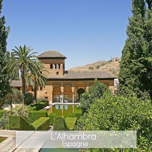 L'Alhambra en Andalousie