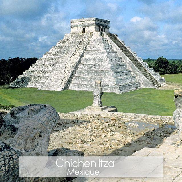 L'ancienne ville maya Chichen Itza au Mexique