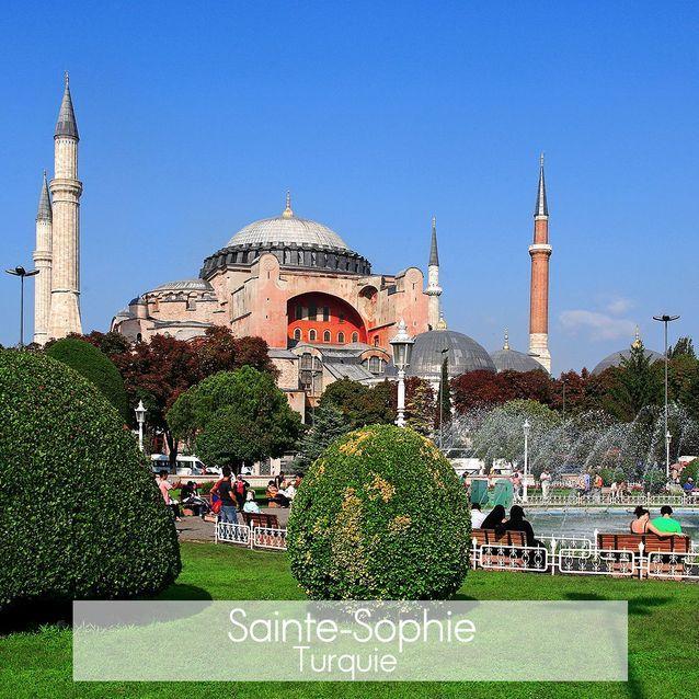 La mosquée Sainte Sophie à Istanbul
