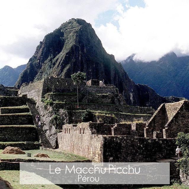 Le Macchu Picchu au Pérou