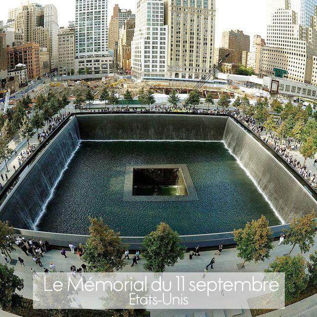 Le Memorial du 11 septembre à New York - Les 20 plus beaux monuments du monde classés par les lectrices de ELLE.fr - Elle