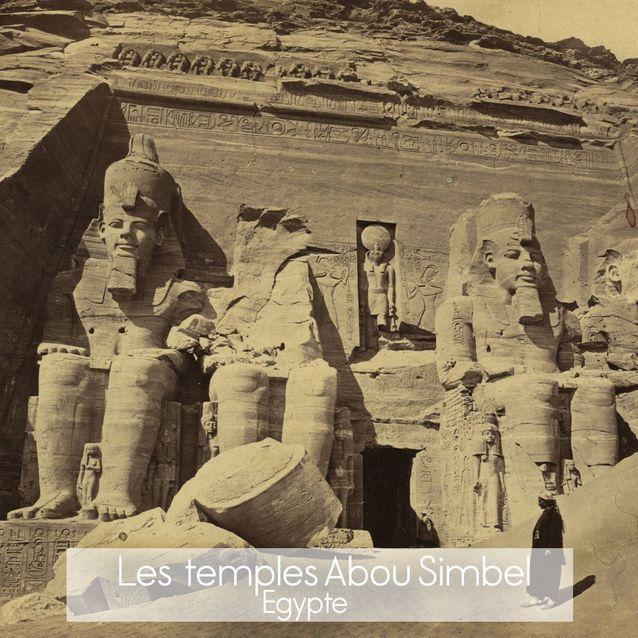 Temple Abou Simbel en Egypte