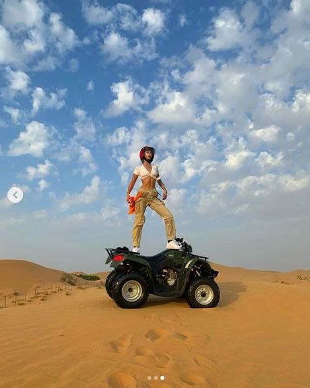 Bella Hadid à Abu Dhabi