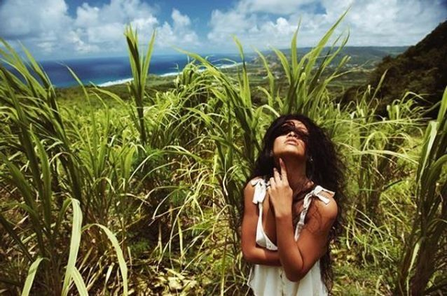 Rihanna à la Barbade