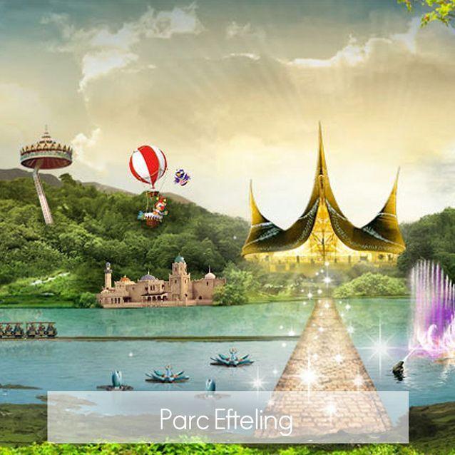 Parc Efteling aux Pays Bas