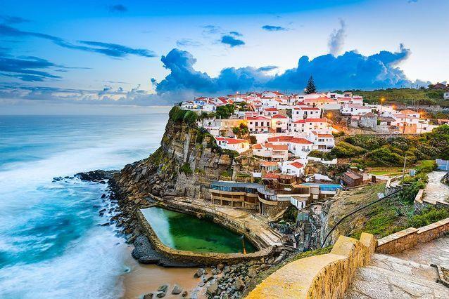 Azenhas do Mar au Portugal