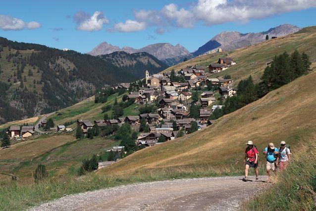 Saint-Véran, dans les Hautes-Alpes
