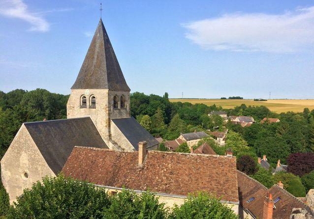 Yèvre-le-Châtel (commune de Yèvre-la-Ville), dans le Loiret