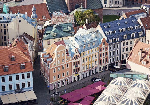 Riga, en Lettonie