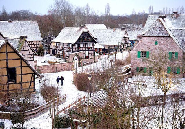 Dans un village alsacien conservé