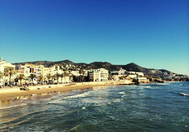 La plage Bogatell, à Barcelone