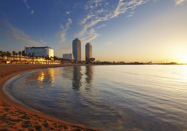 La plage Mar Bella, à Barcelone