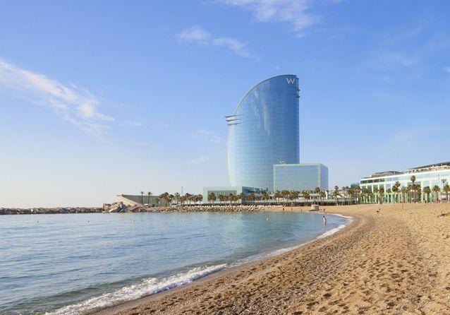 La plage Nova Icària, à Barcelone