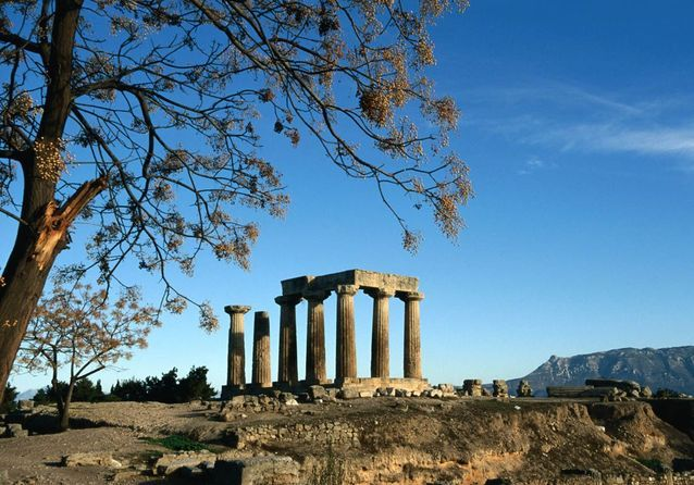 L'île de Corinthe