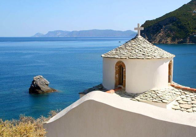 L'île de Skopelos